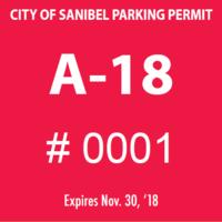 Starting Tomorrow, November 15, 2017 2018 Sanibel Beach Parking