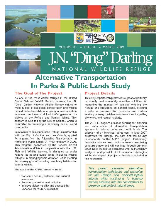 Alternative Transportation In Parks And Public Land Study Newsletter