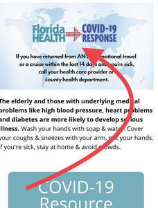 Florida Department Of Health Corrects Inaccurate Reported Zip Code Sanibel At 7 Total Positive Cases Local Trend Report Updated City Of Sanibel