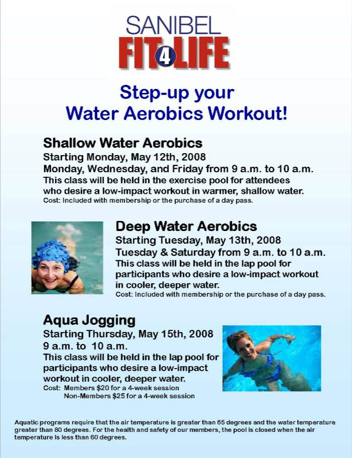 Step Up Your Water Aerobics Workout May 9 2008 City